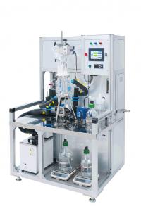 溶剤濃縮、溶剤置換装置