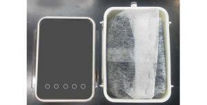 溶剤回収装置 クールトラップ用 活性炭ボックス